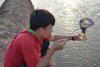 Sóc Trăng: Thiệt hại hơn 50% diện tích nuôi Artemia