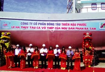 Quảng Nam: Kỳ vọng tàu vỏ thép