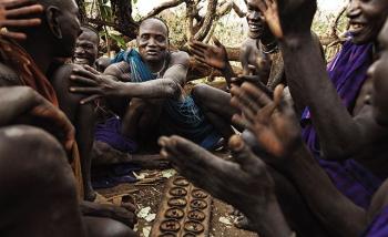 Bộ lạc nguyên thủy Kala ở châu Phi