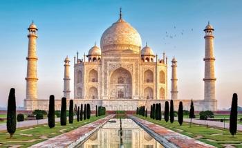 Đền Taj Mahal, biểu tượng của tình yêu vĩnh cửu