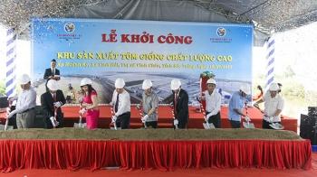 Tập đoàn Việt – Úc: Khởi công Khu sản xuất tôm giống chất lượng cao tại Sóc Trăng