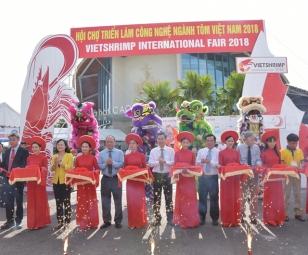 Khai mạc Hội chợ Triển lãm Công nghệ ngành tôm Việt Nam lần thứ hai năm 2018