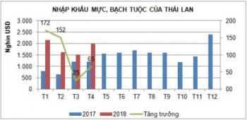 ASEAN thị trường thay thế tiềm năng cho mực, bạch tuộc
