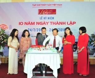 Tạp chí Thủy sản Việt Nam kỷ niệm 10 năm thành lập (2008 - 2018)