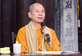 Thượng tọa Thích Chân Quang: Đạo đức sẽ tạo nên một xã hội thặng dư