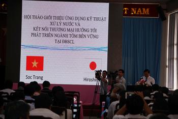 Hội thảo giới thiệu công nghệ xử lý nước trong nuôi tôm
