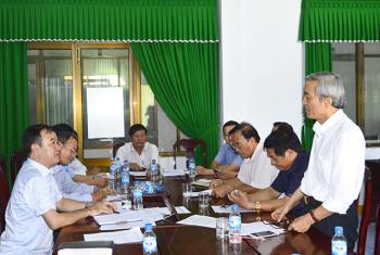 Hội Nghề cá Quảng Ngãi tổ chức Hội nghị Ban Chấp hành mở rộng
