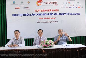 Cần Thơ: Đề nghị hỗ trợ đăng tải thông tin VietShrimp 2020