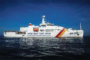 Kiểm ngư Việt Nam: Kịp thời ứng cứu ngư dân gặp nạn trên biển