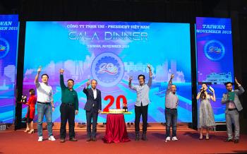 Uni-President Việt Nam: Chặng đường 20 năm không ngừng phát triển