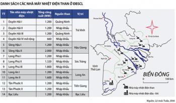 Nhiệt điện than gây nguy cơ với thủy sản ĐBSCL