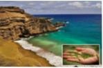Biển cát xanh Papakolea