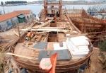 Bến Tre: Đóng mới 78 tàu đánh bắt thủy sản tại Bình Đại