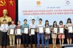 Thủy sản Việt Nam đoạt giải A Giải báo chí truyên truyền sử dụng năng lượng tiết kiệm, hiệu quả