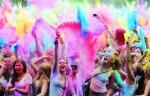 Lễ hội sắc màu đón năm mới của người Ấn Độ