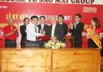 Tập đoàn Sao Mai: Ký hợp đồng và thỏa thuận hợp tác bổ sung với Koyo Corporation