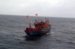 Bình Định: Tàu cá bị chìm, ngư dân gặp nạn