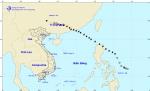 Tin về vùng áp thấp trên đất liền Trung Quốc và mưa lớn diện rộng ở Bắc Bộ