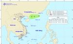 Tin về vùng áp thấp trên khu vực Bắc biển Đông