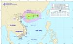 Tin áp thấp nhiệt đới trên khu vực phía Bắc biển Đông, cảnh báo gió mạnh, sóng lớn trên các vùng biển phía Nam
