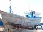 Bình Thuận: Hạ thủy tàu vỏ gỗ tại La Gi