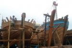 Bà Rịa - Vũng Tàu: Ngừng đóng tàu vỏ gỗ