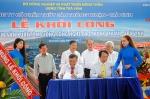 Trà Vinh: Khởi công Trung tâm sản xuất tôm giống công nghệ cao