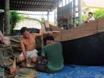 Quảng Bình: Ngư dân nhận tiền bồi thường tiếp tục vươn khơi