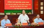 Thủ tướng làm việc ở tỉnh Sóc Trăng và Trà Vinh: Chú trọng thủy sản, mũi nhọn con tôm