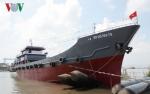 Bàn giao tàu vỏ thép thứ 6 cho ngư dân Bà Rịa - Vũng Tàu