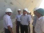 Kiểm tra việc sửa chữa tàu vỏ thép tại Bình Định