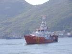 Tàu cá Bình Định bị nạn được tàu SAR 412 cứu hộ đưa vào bờ an toàn