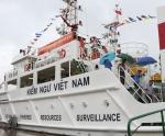 Kiểm ngư Việt Nam nhận bàn giao hai tàu Kiểm ngư KN-6000