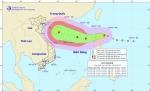 Bão Khanun mạnh cấp 8 xuất hiện ở Biển Đông