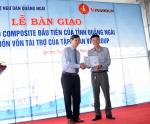 Tập đoàn Vingroup: Bàn giao tàu composite cho ngư dân Quảng Ngãi