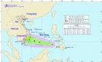 Áp thấp nhiệt đới giật cấp 9, có thể thành bão
