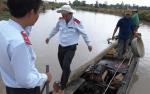 Đối tượng đánh bắt trái phép tấn công cán bộ thủy sản Long An