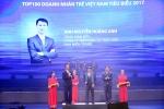 Nam Miền Trung: Doanh nhân trẻ Việt Nam tiêu biểu năm 2017
