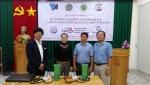 Bình Thuận: Trao hệ thống cảm biến Nano cho 2 doanh nghiệp nuôi tôm trên địa bàn tỉnh