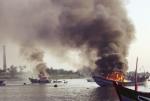 Đảm bảo an toàn cháy nổ cho tàu thuyền