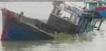 Tàu cá Bình Định bị tàu hàng đâm chìm trên biển