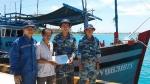 Trung tâm HC - KT nghề cá đảo Sinh Tồn tích cực hỗ trợ tàu cá