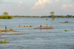 Thiếu vắng cá tôm mùa nước nổi