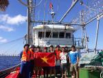 Trung tâm Y tế và Âu tàu thị trấn Trường Sa kịp thời hỗ trợ ngư dân