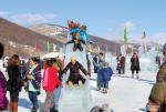 Thú vị lễ hội băng Mông Cổ