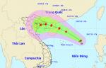 Áp thấp nhiệt đới giật cấp 8, hướng vào vịnh Bắc Bộ
