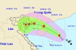 Áp thấp nhiệt đới mạnh thành bão số 3, hướng vào Quảng Ninh - Nam Định