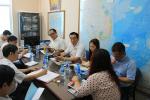 Hội Nghề cá Việt Nam tiếp đón Công ty Yong Sung