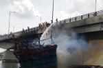Chuẩn bị ra khơi, tàu cháy, thiệt hại khoảng 7 tỷ đồng