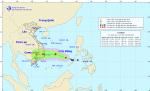Tin áp thấp nhiệt đới trên biển Đông, gió mạnh trên biển, mưa rất lớn ở Trung Bộ và Tây Nguyên